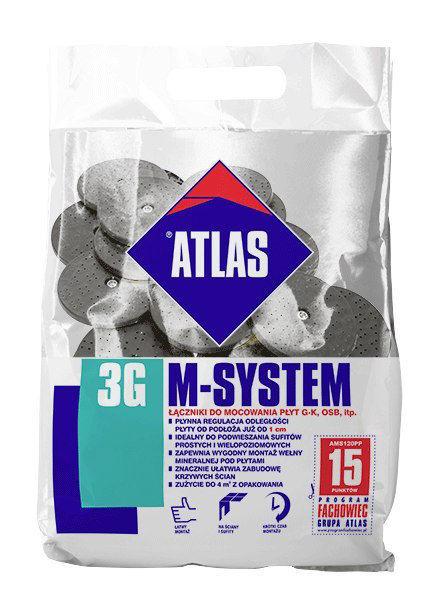Obrazek ATLAS M-SYSTEM 3G 120 PP M8/FI 6,5 L100 BX 21 SZT