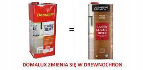 Obrazek DOMALUX 5l CLASSIC SILVER PÓŁMAT