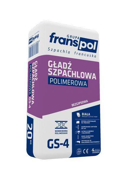 Obrazek FRANSpol GŁADŹ SZP. POLIMEROWA 20KG GS-4