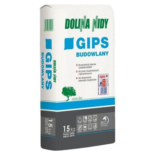 Obrazek GIPS BUDOWLANY 15KG D.NIDY