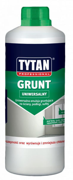 Obrazek TYTAN GRUNT 1L EMU.GRUNTUJĄCA
