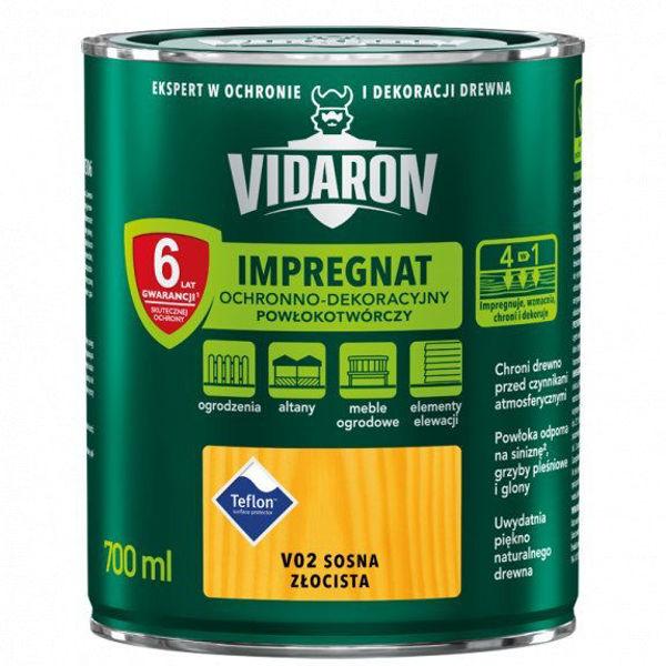 Obrazek VIDARON IMPREGNAT KOLORY 4,5L