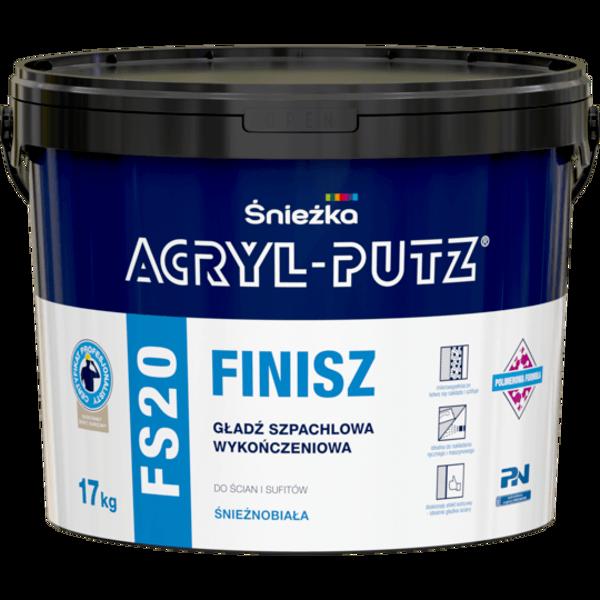 Obrazek ACRYL-PUTZ FS 20 FINISZ 17kg