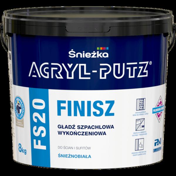 Obrazek ACRYL-PUTZ FS 20 FINISZ 8kg