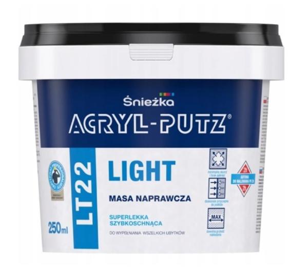 Obrazek ACRYL-PUTZ LT 22 LIGHT 250ml