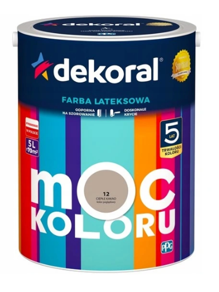 Obrazek Dekoral Akrylit W Ciepłe Kakao 5l