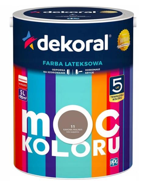 Obrazek Dekoral Akrylit W Kawowa Pralinka 5l
