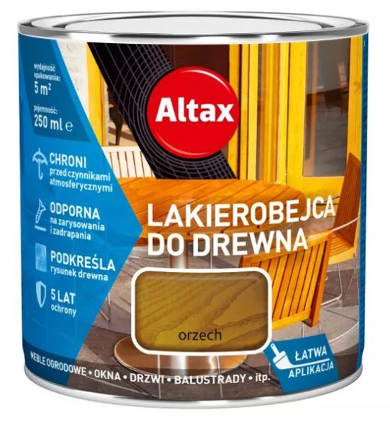 Obrazek Altax Lakierobejca Orzech 0,25l