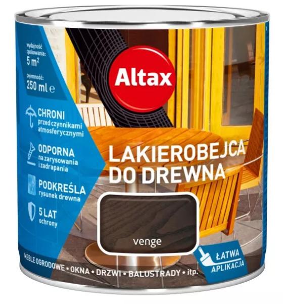 Obrazek Altax Lakierobejca Venge 0,25l
