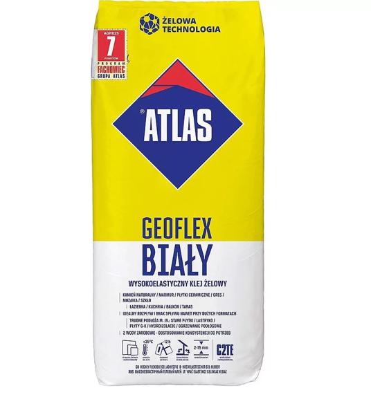 Obrazek Atlas Geoflex Biały 25 kg