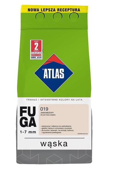 Obrazek Atlas Fuga Wąska 2kg Jasnobeżowy 019