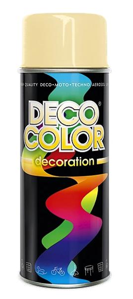 Obrazek Deco Color Decoration lakier w sprayu Beżowy Ral 1015